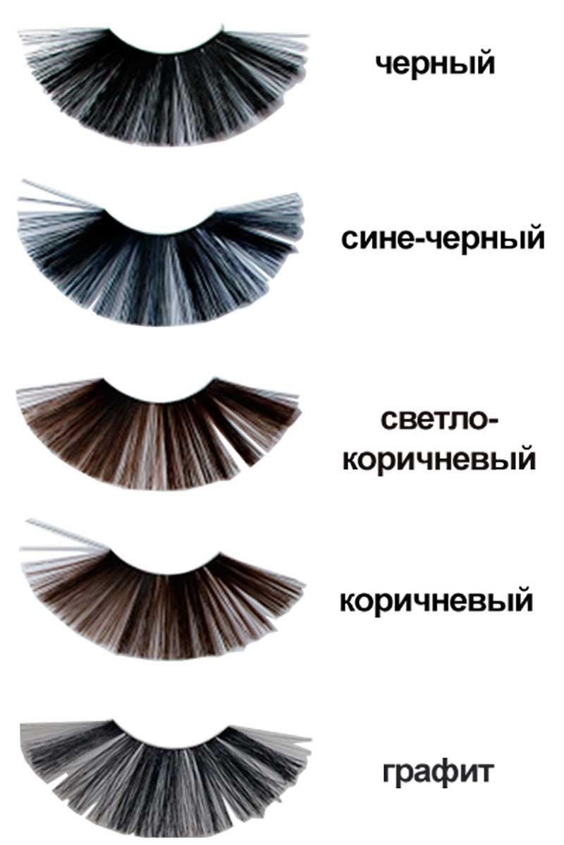 Краска для бровей из черного в коричневый