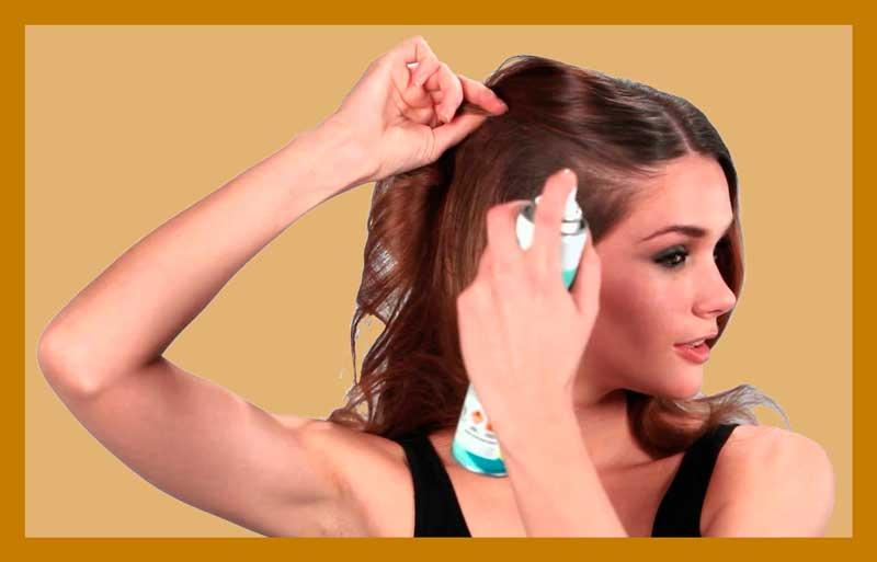 Сухой шампунь - как мыть голову