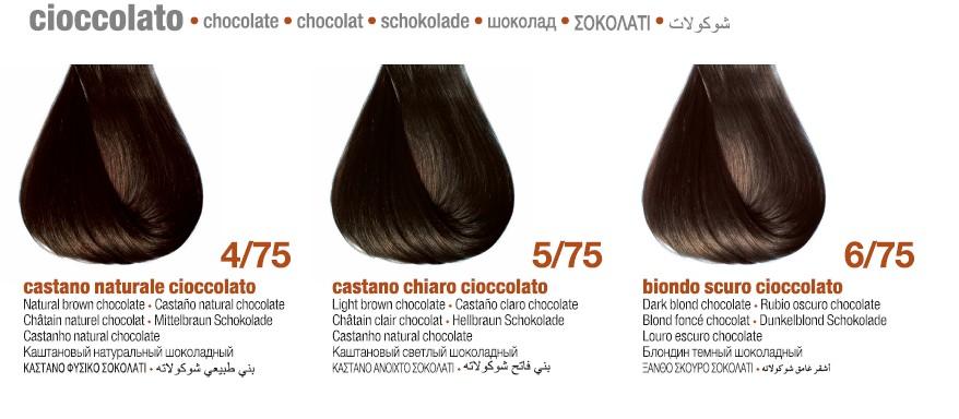 Шоколадные цвета BBCOS Innovation EVO Палитра