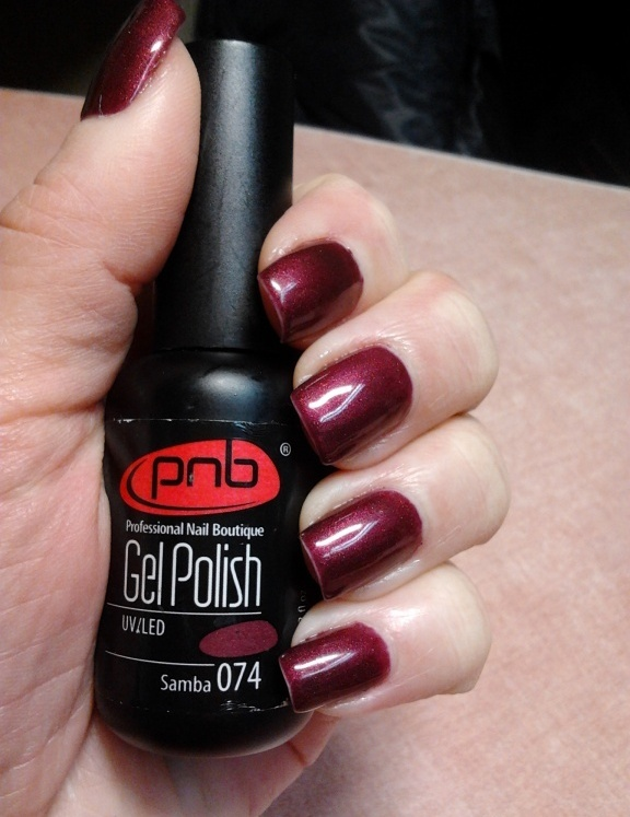 Гель лак PNB 074 Samba - самба
