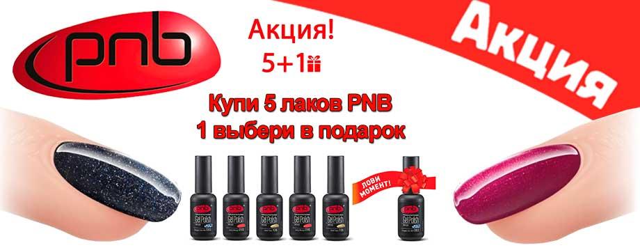 Купи 5 лаков ПНБ 1 лак PNB получи в подарок