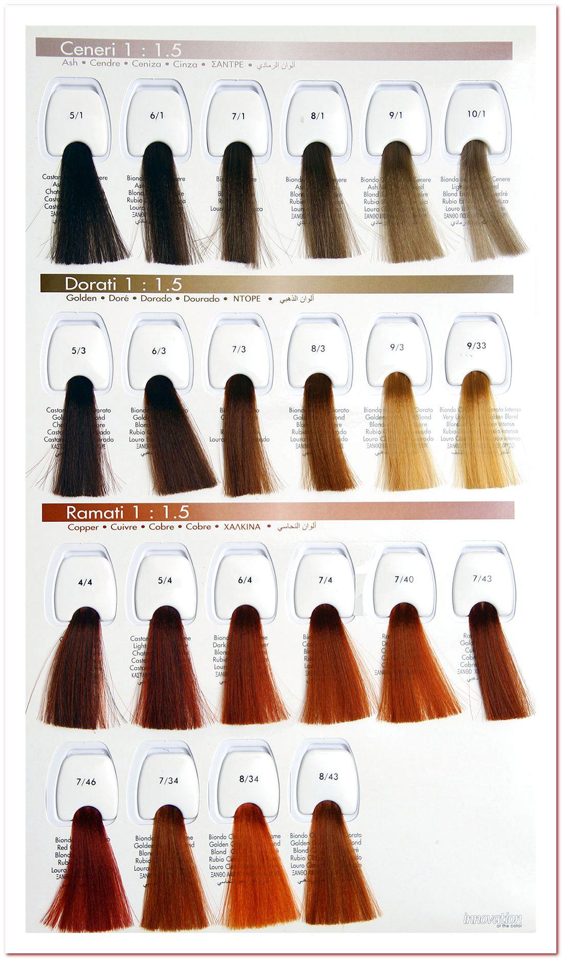 Палитра краска для волос BBCOS